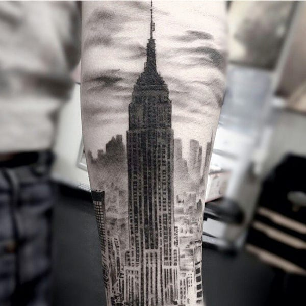 Cool Nyc Tattoos Body Art Meaning