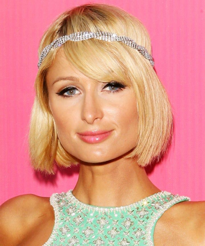 Paris Hilton Blonde Brunette Best Looks Makeup Hair