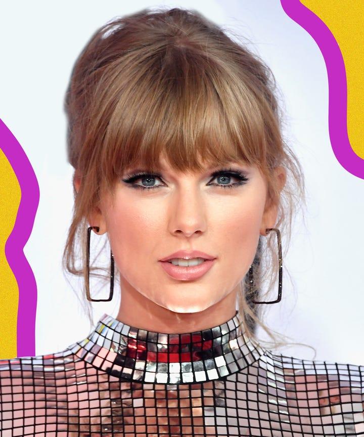 Taylor Swift 2018 Amas Makeup And Hair Cat Eye