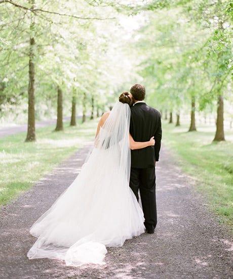 Rustic Black Tie Wedding Ideas - Barn Ceremony