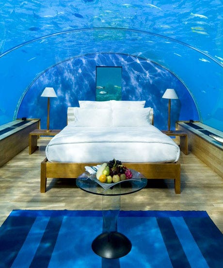 Spectacular Underwater Hotels To Visit Now
