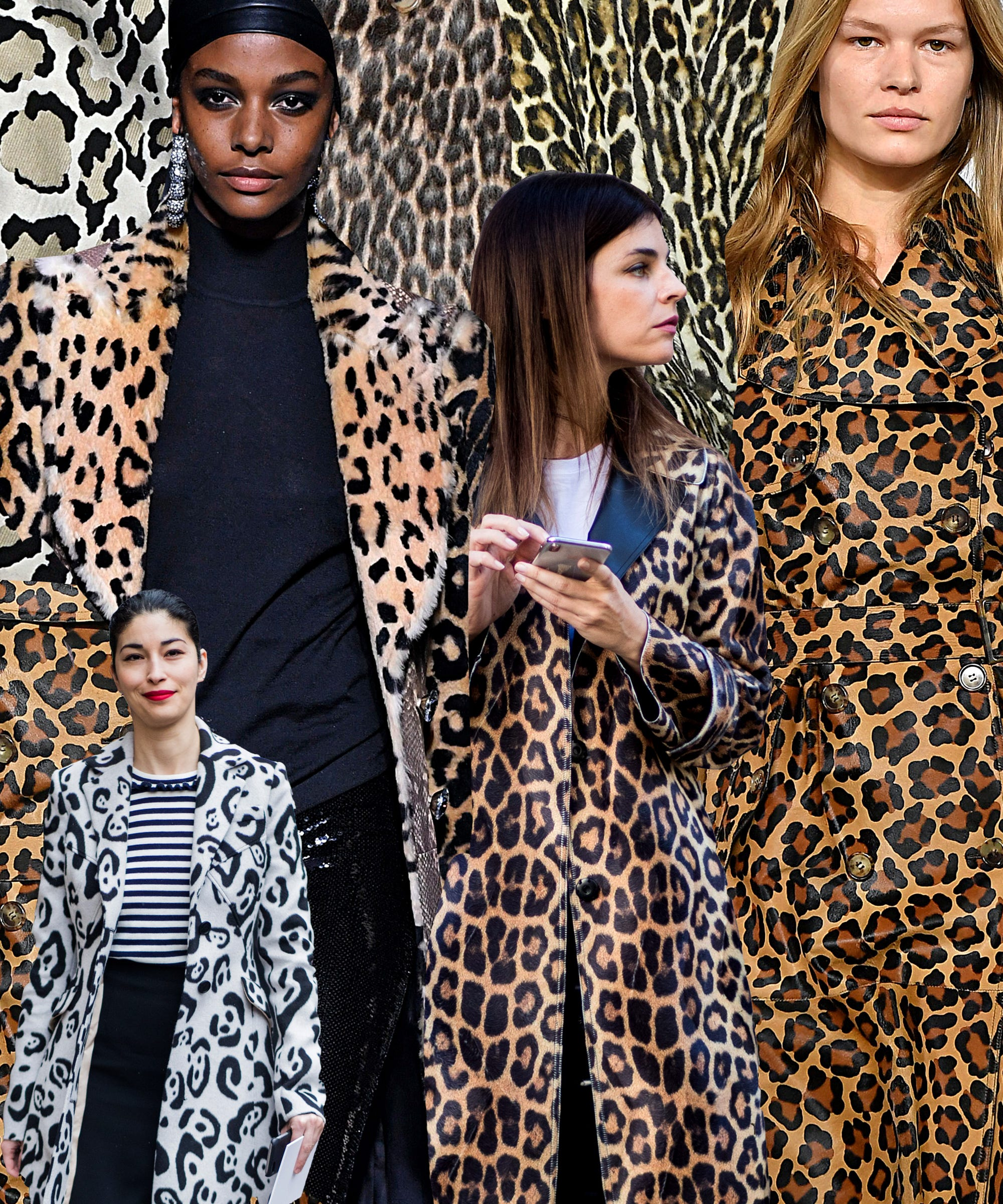0cac3831adde Leopard Print Trend AW18 Fashion Month