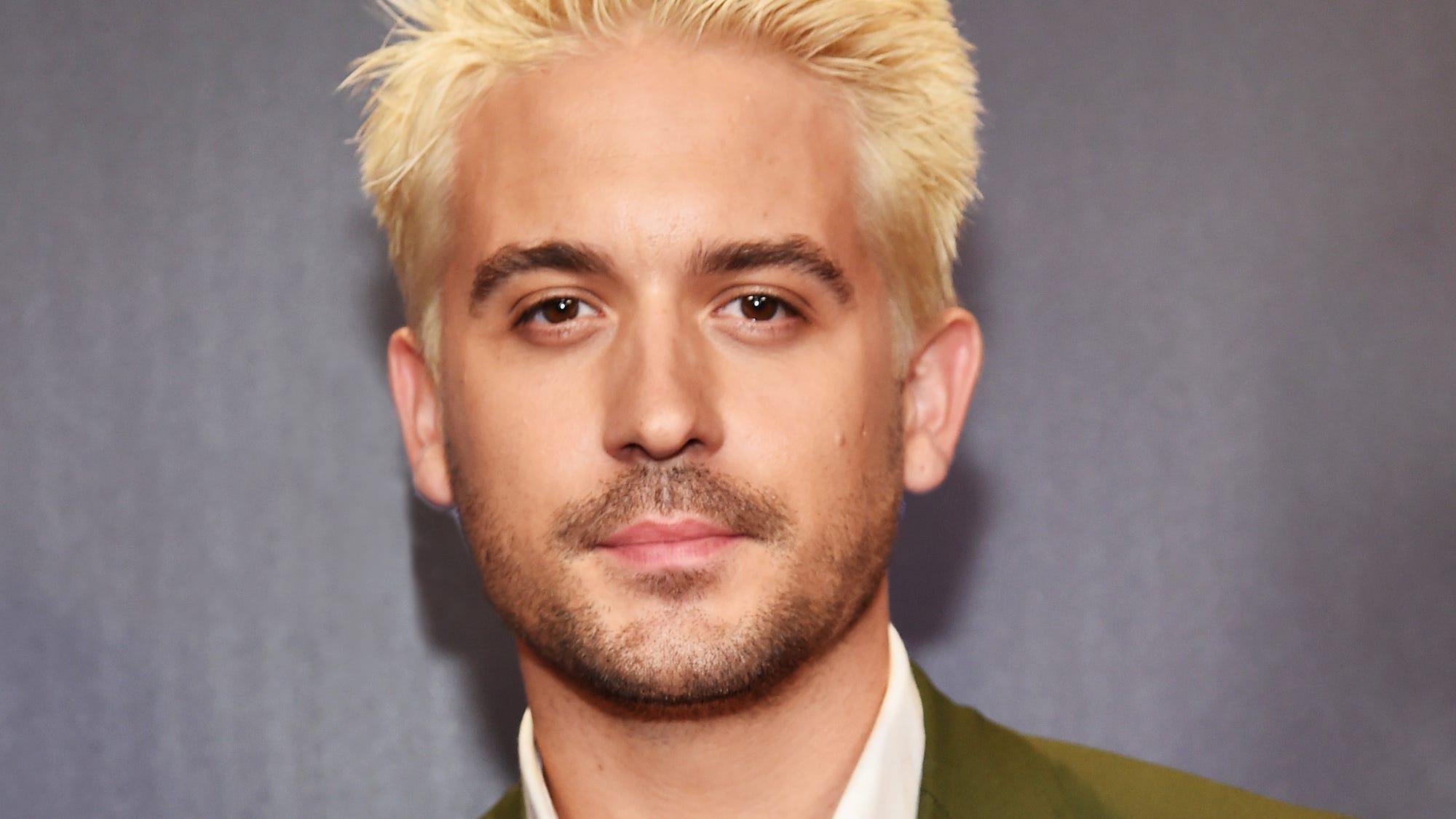 Platinum Blonde Hair Is Trending For Men In Hollywood