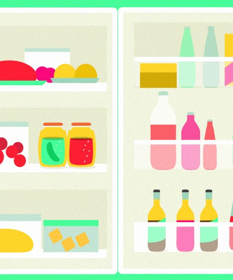 How To Organize Your Fridge Like An Adult