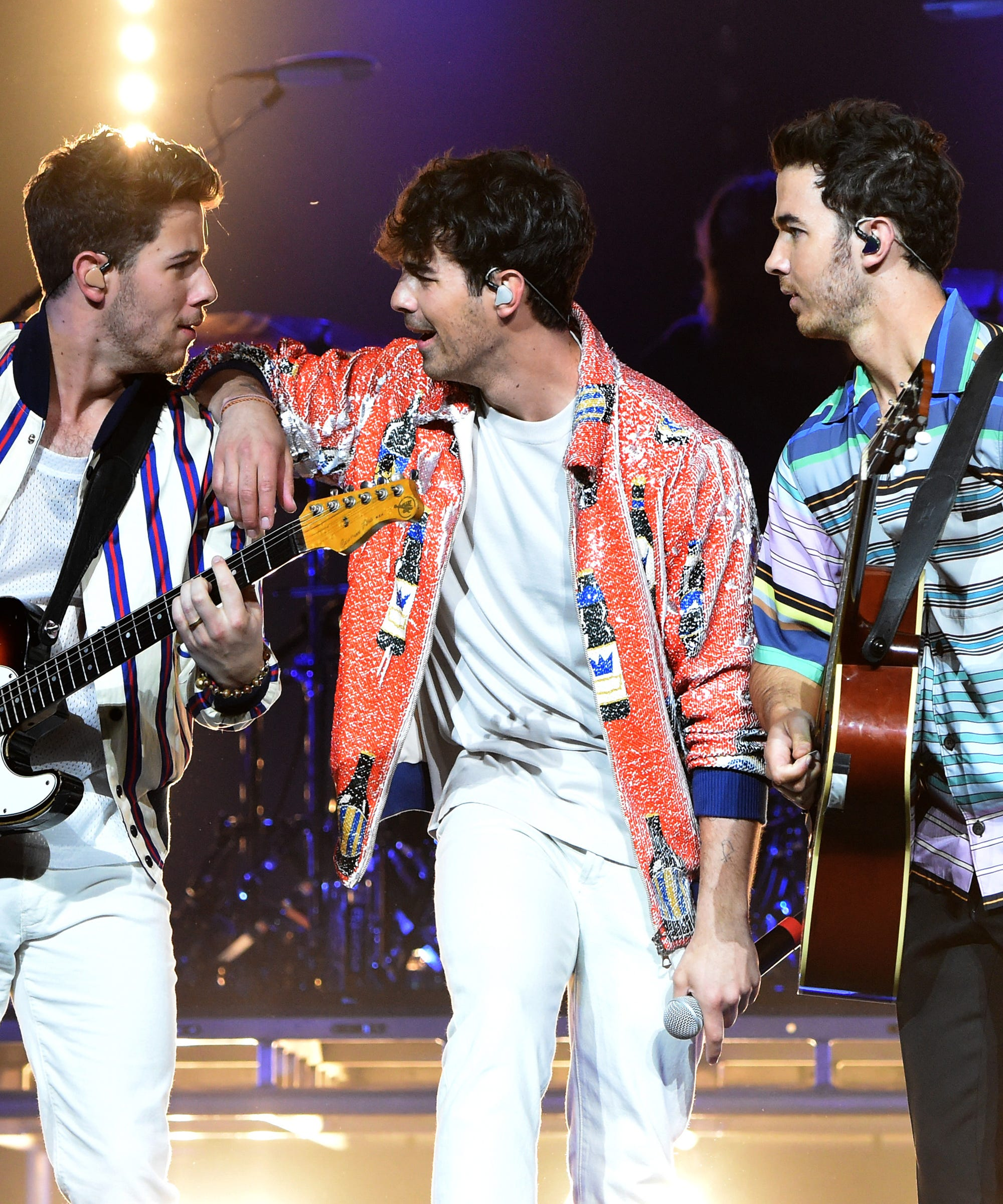Jonas Brothers Celebrate Their SNL Gig With A Hailey Bieber Throwback