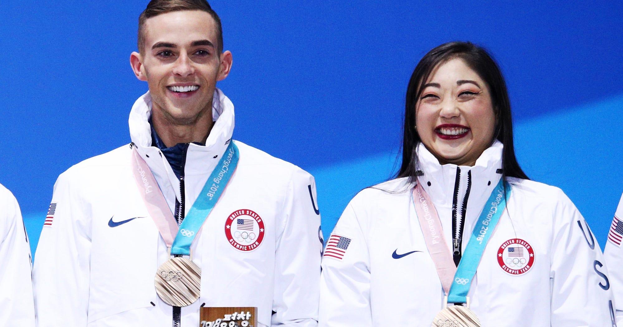 Olympic BFFS Adam Rippon & Mirai Nagasu Have Matching Tattoos