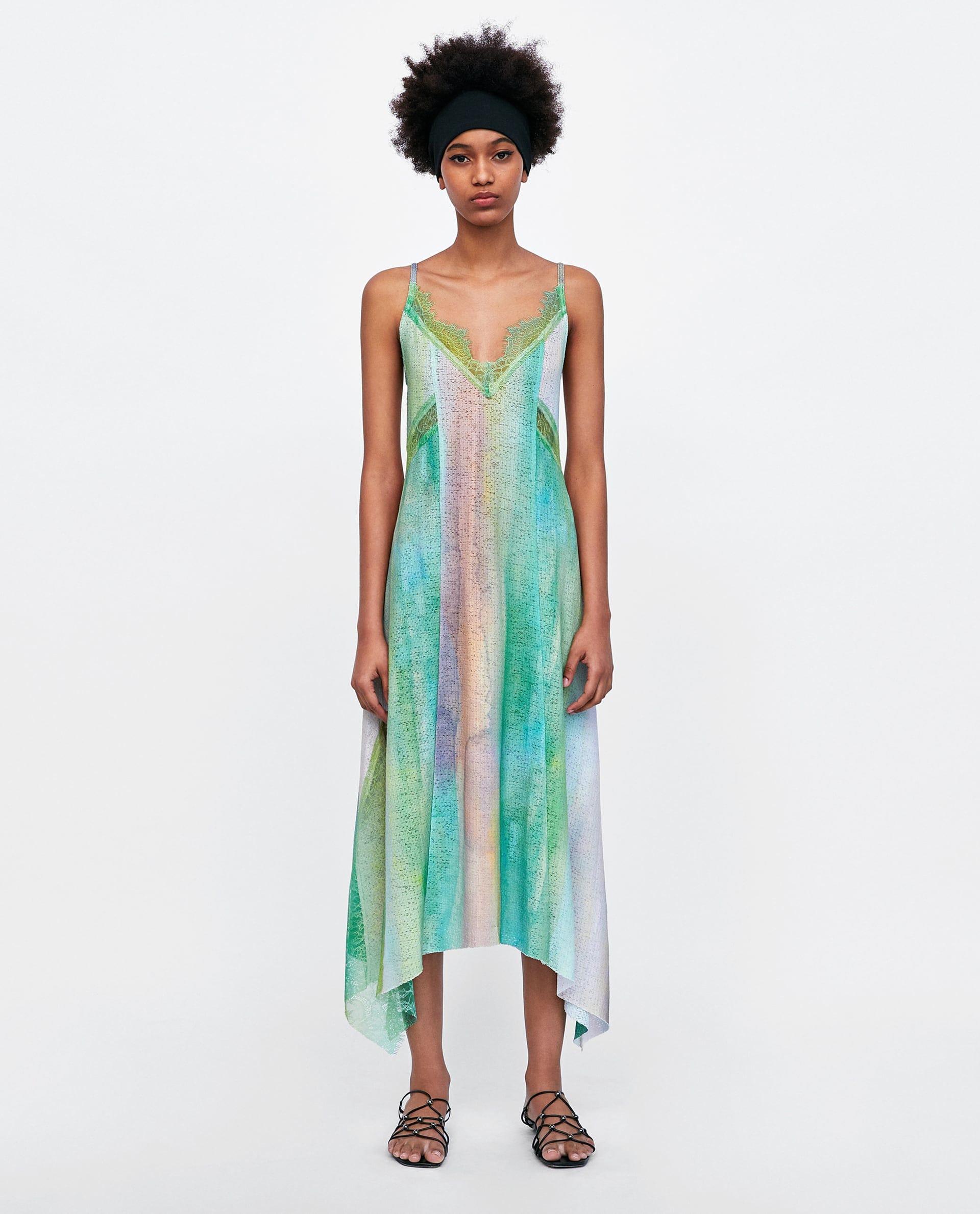 8b6f2157 Floral Print Jumpsuit Dress Zara
