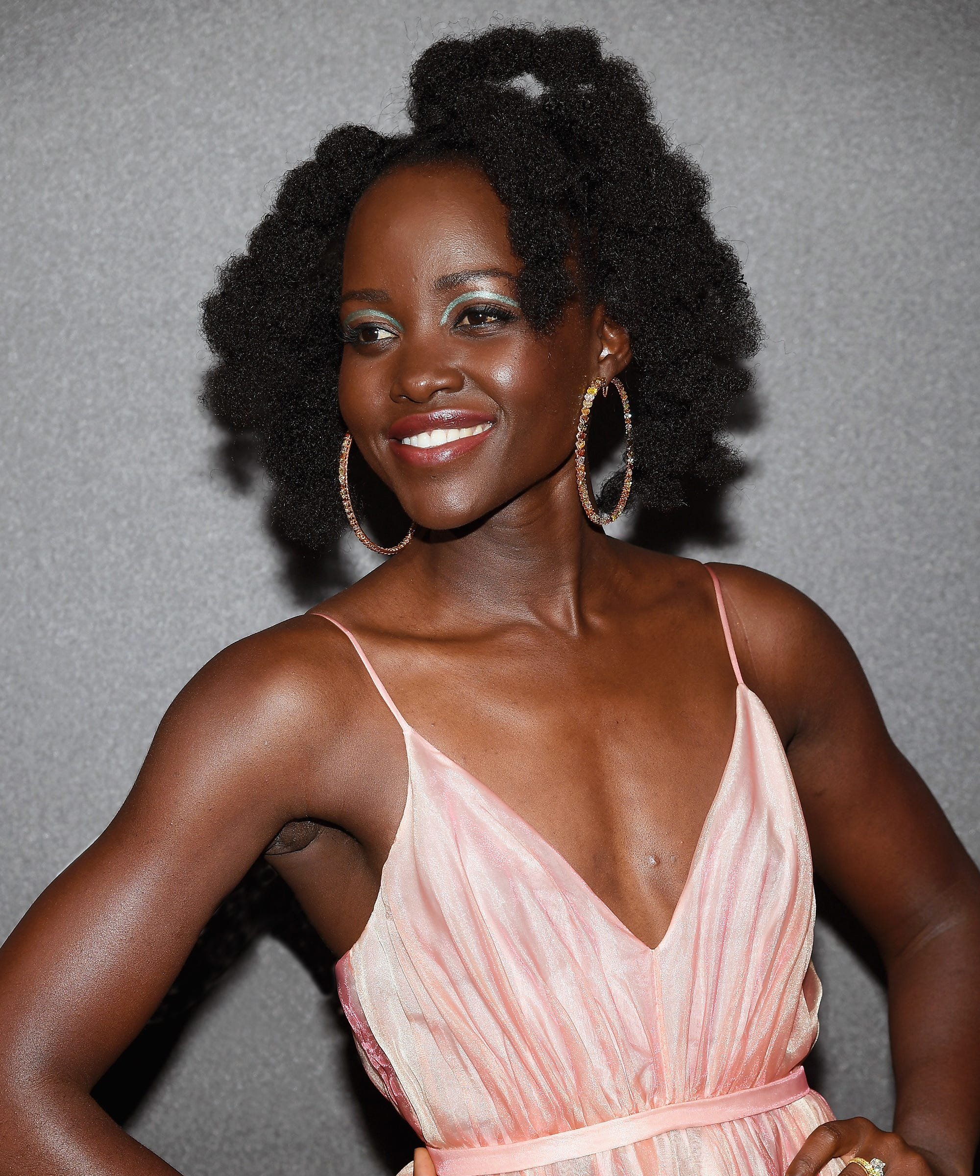 Lupita Nyongo Has The Best Summer Heat Free Hairstyles