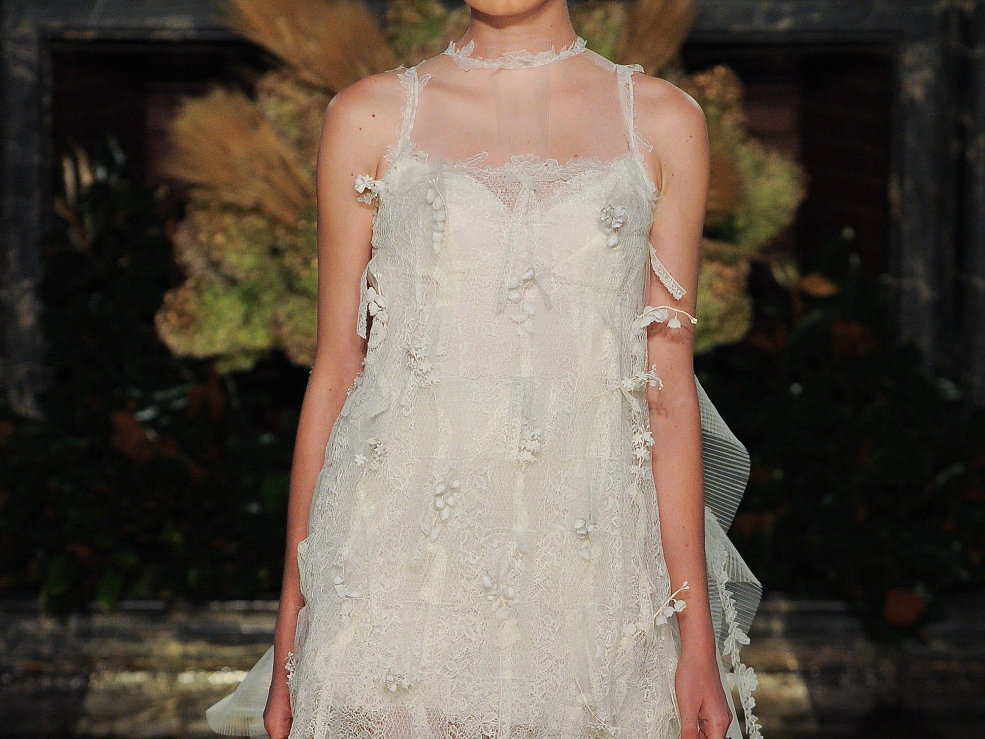 Wedding Dresses New Trends - Ruffles Pearls Bows