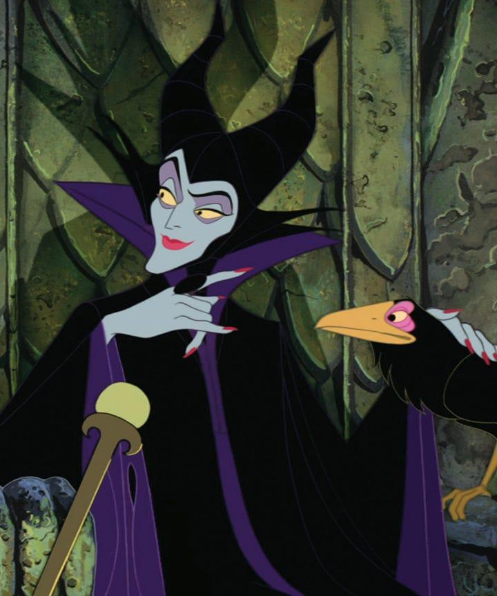 Disney Villain Nail Art Reigned At The Blonds Nyfw
