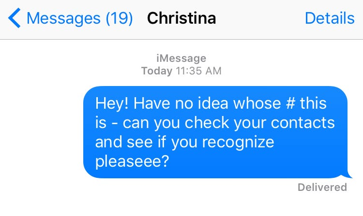 Random Texts - How To Respond To Unknown Numbers Sender