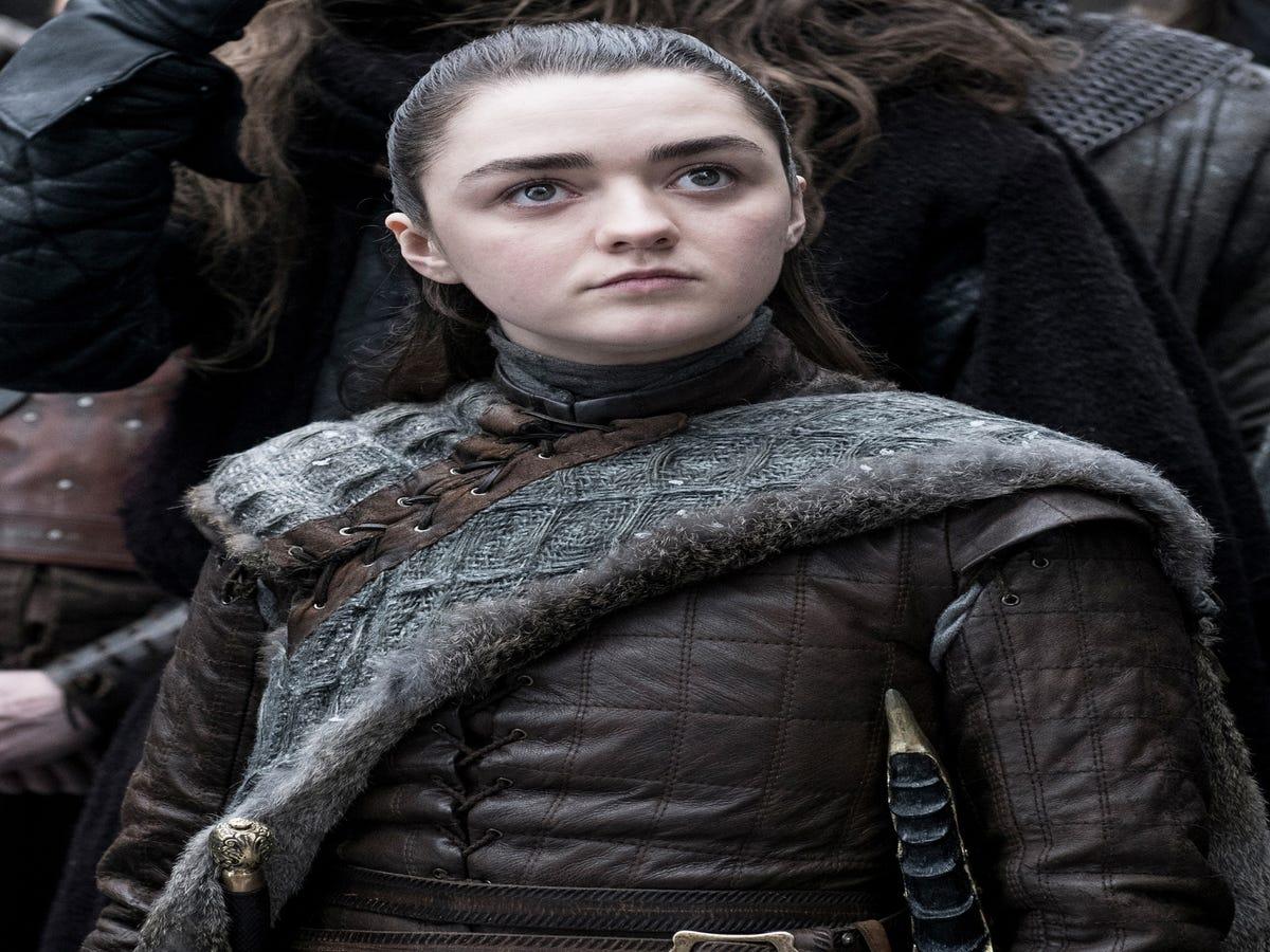 The Touching Reason Arya Stark s New Hairstyle Looks So Familiar