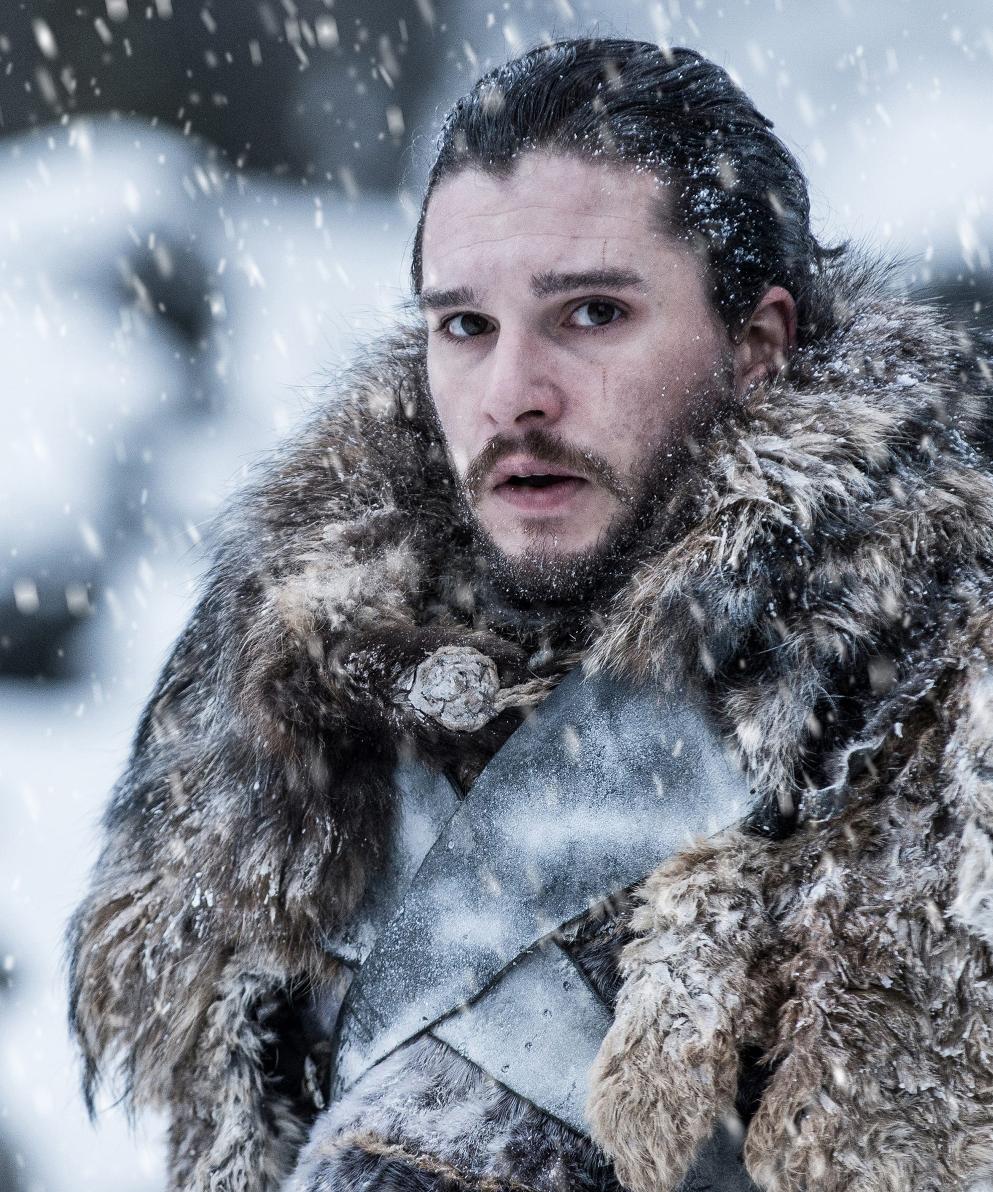 Kit Harington Stole This Thing From The Game Of Thrones Set — For His Garden