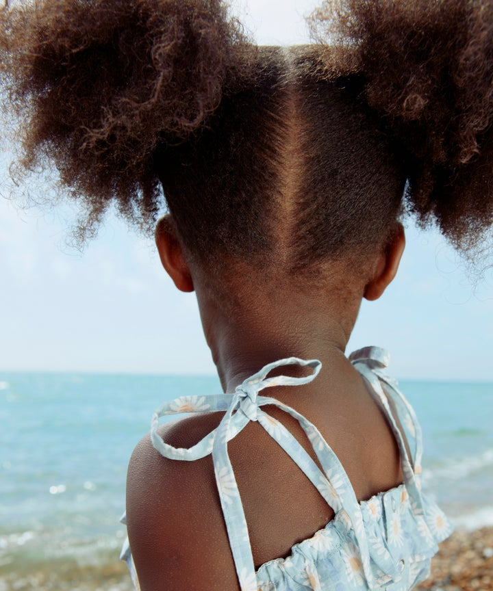 Little Black Girl Hair First Day Of School Viral Photo