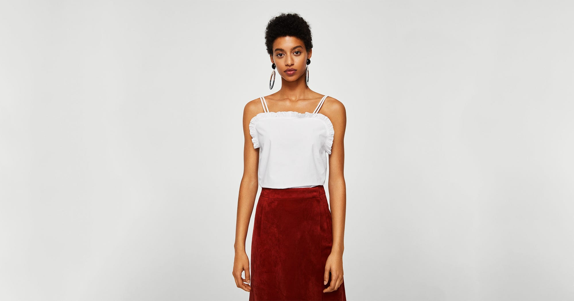 f476deb74c6 Best White Crop Tops & Blouses For Summer 2018