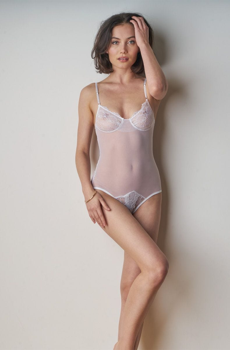 c256708c4 Elegant Bridal Lingerie Sexy Wedding Underwear