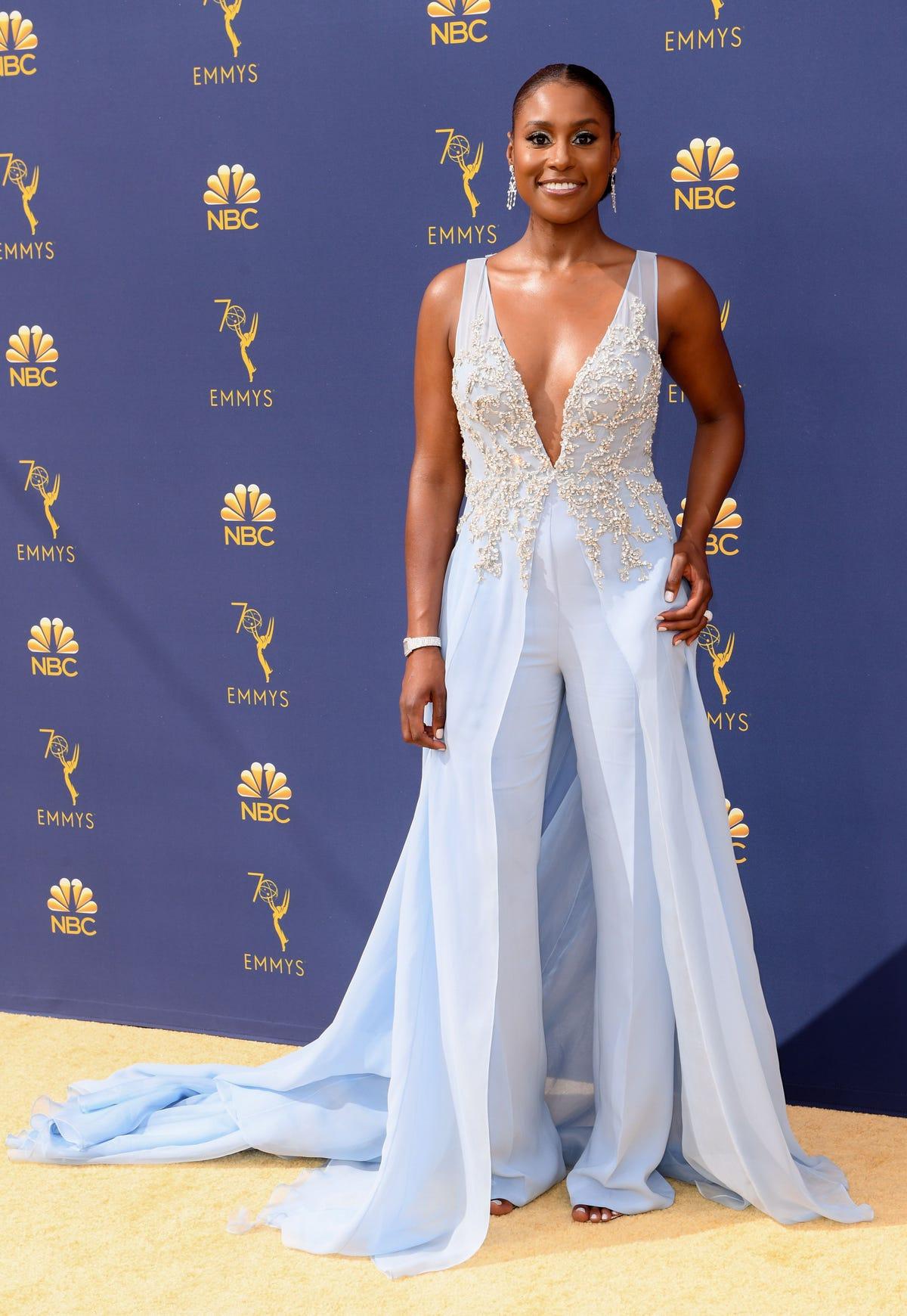 f816c25d5240 2018 Emmys Best Dressed Celebrity Photos On Red Carpet