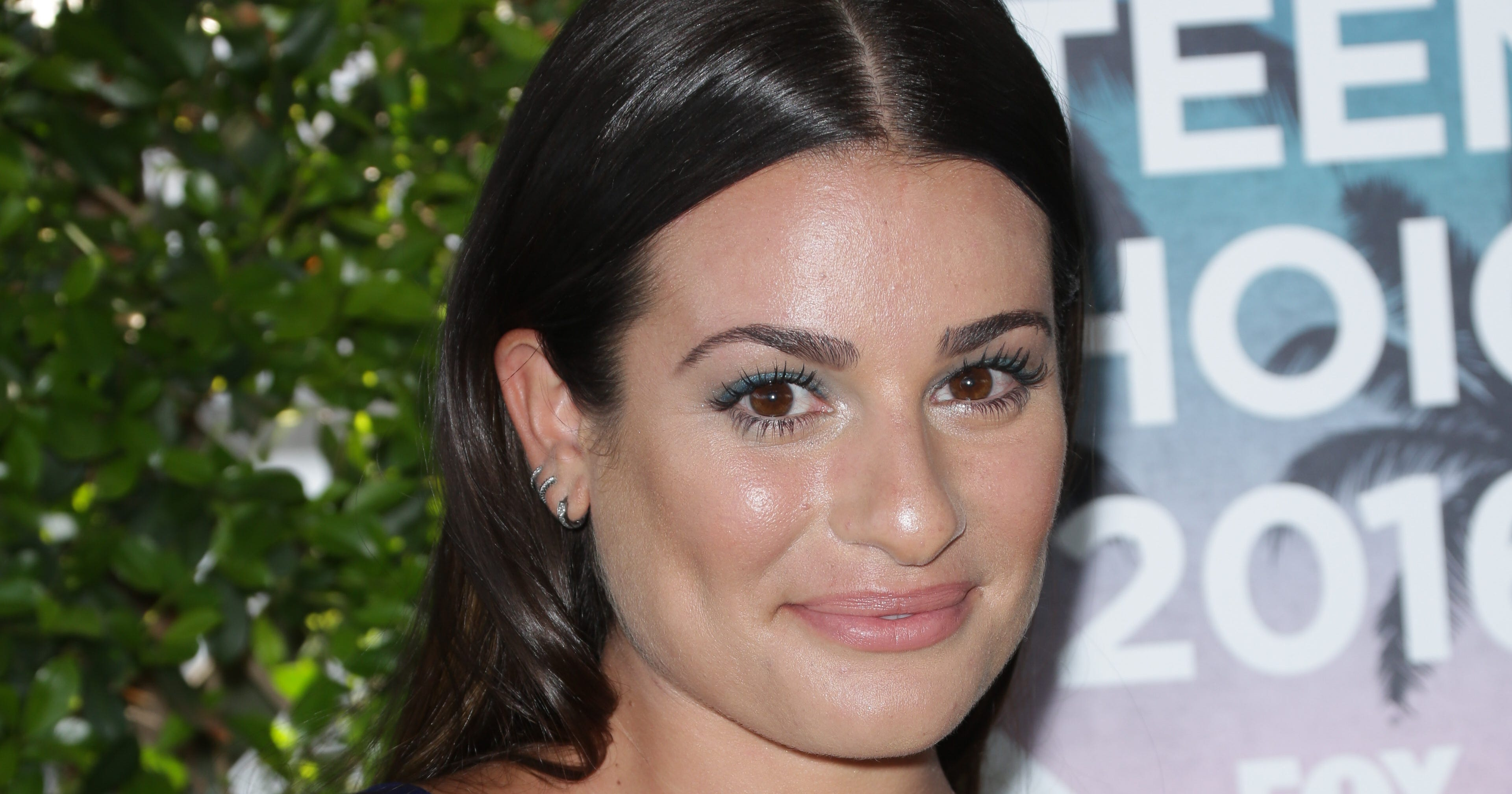Try Out Lea Michele's Update on the MessyBun