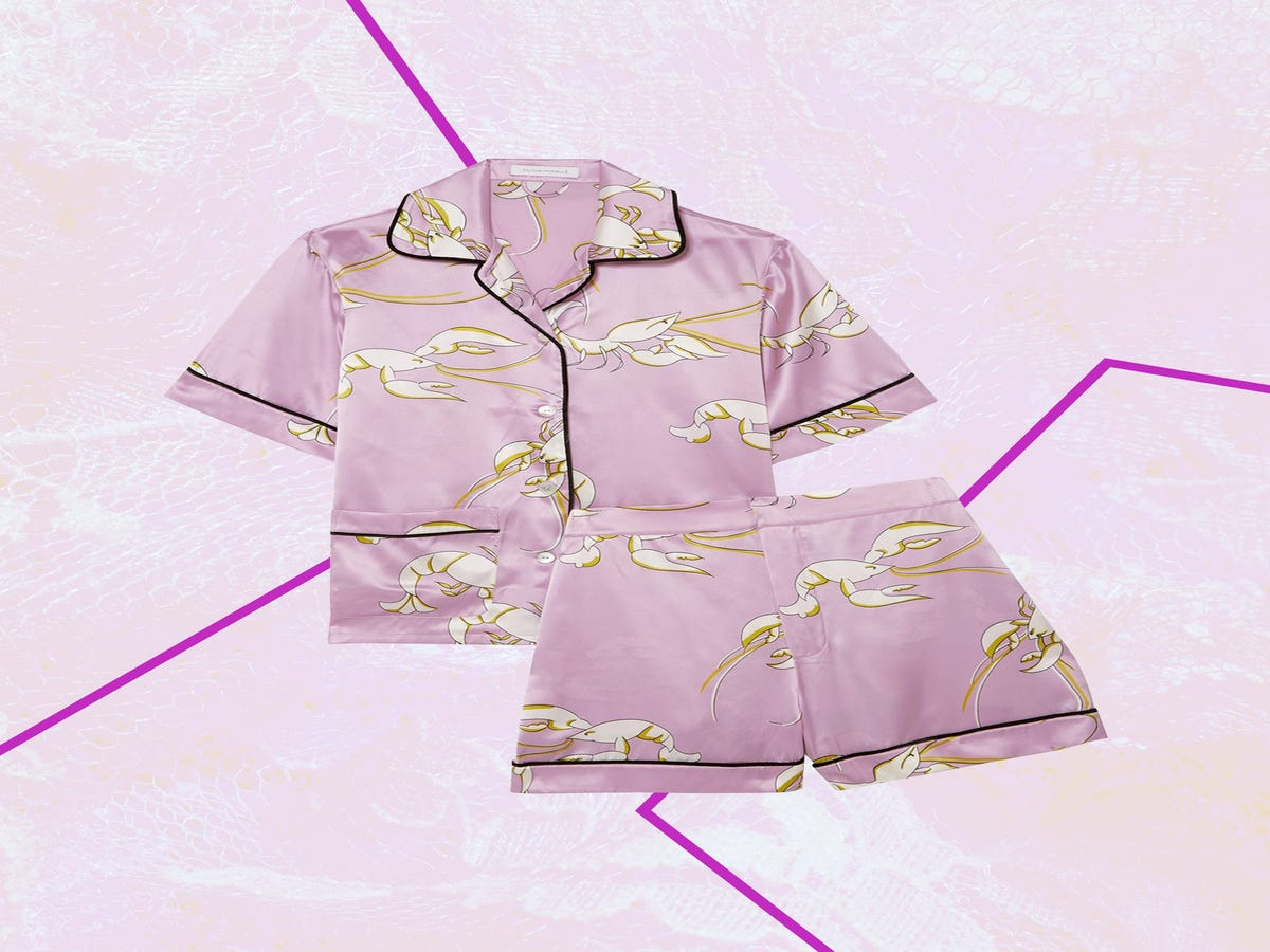 Treat Yourself To These Worth-The-Splurge Silk Pajamas