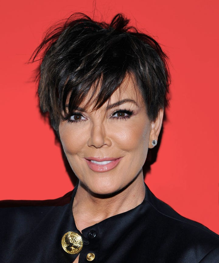 Kris Jenner Birthday Kardashian Daughters Look A Like