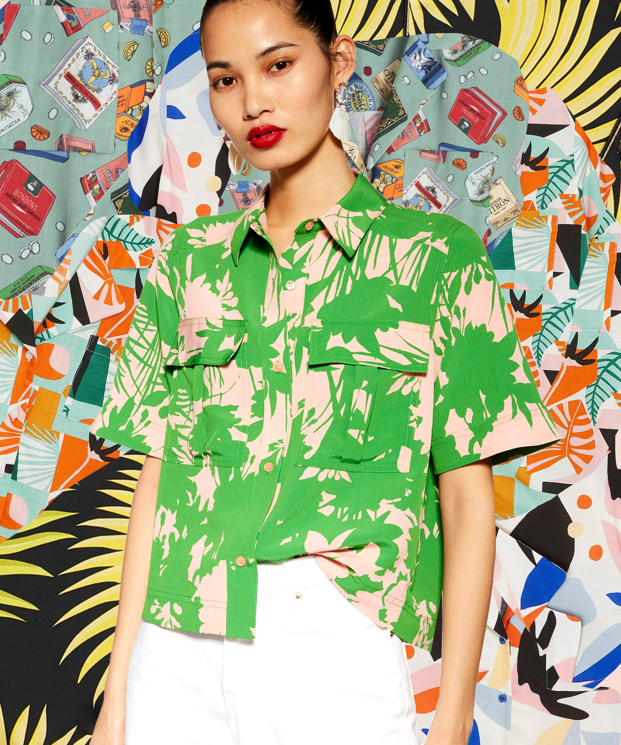 The Bowling Shirt Is Summer's Coolest (& Most Unexpected) Staple