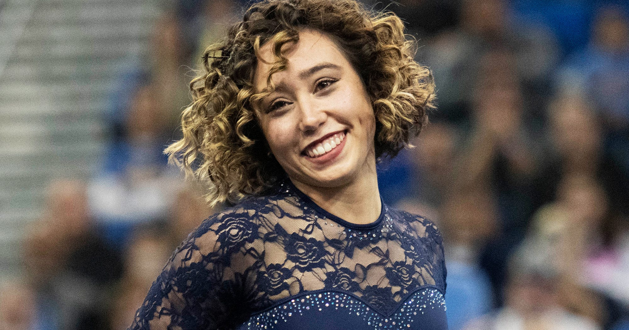 Katelyn Ohashi Is Back At It Again With Her Gymnastics Floor Routine