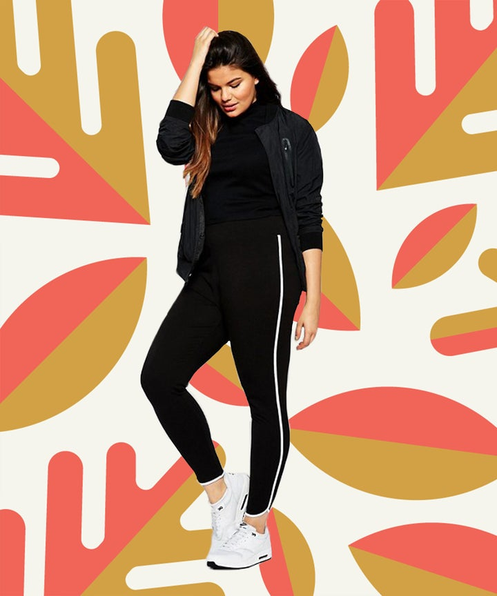 Plus Size Style with Leggings