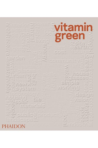 Vitamin green guide to sustainable design the cover of vitamin green made out of recycled egg cartons solutioingenieria Gallery