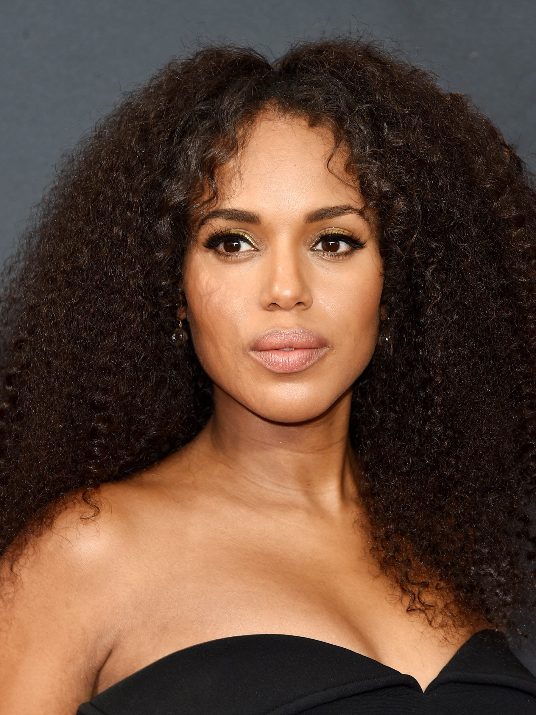 Kerry Washington Glowing Skin And Hair Secrets Are Out