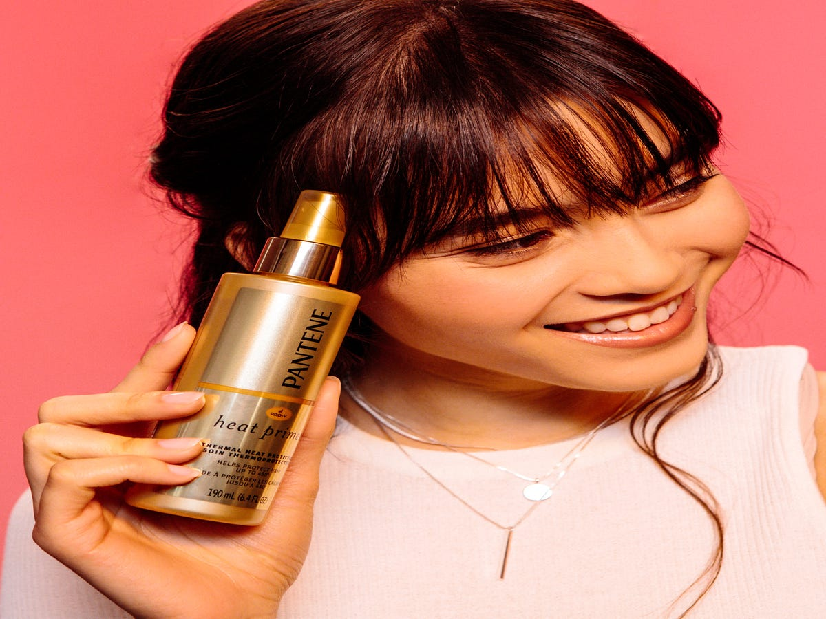 This Drugstore Heat Primer Is Our Secret Weapon For Healthy Hair