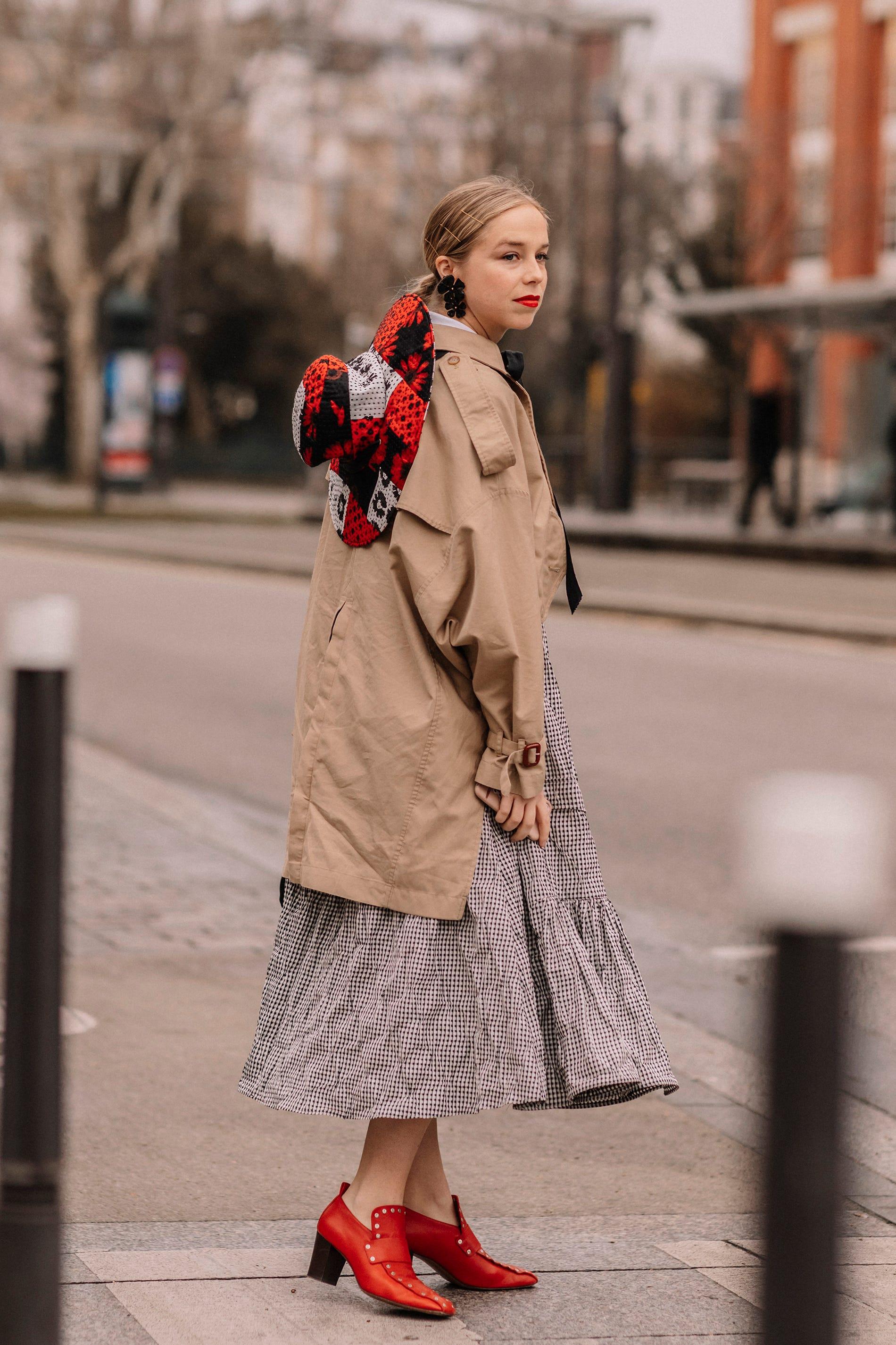 The Cute New Collaboration Street Style Stars Love   Bemalte
