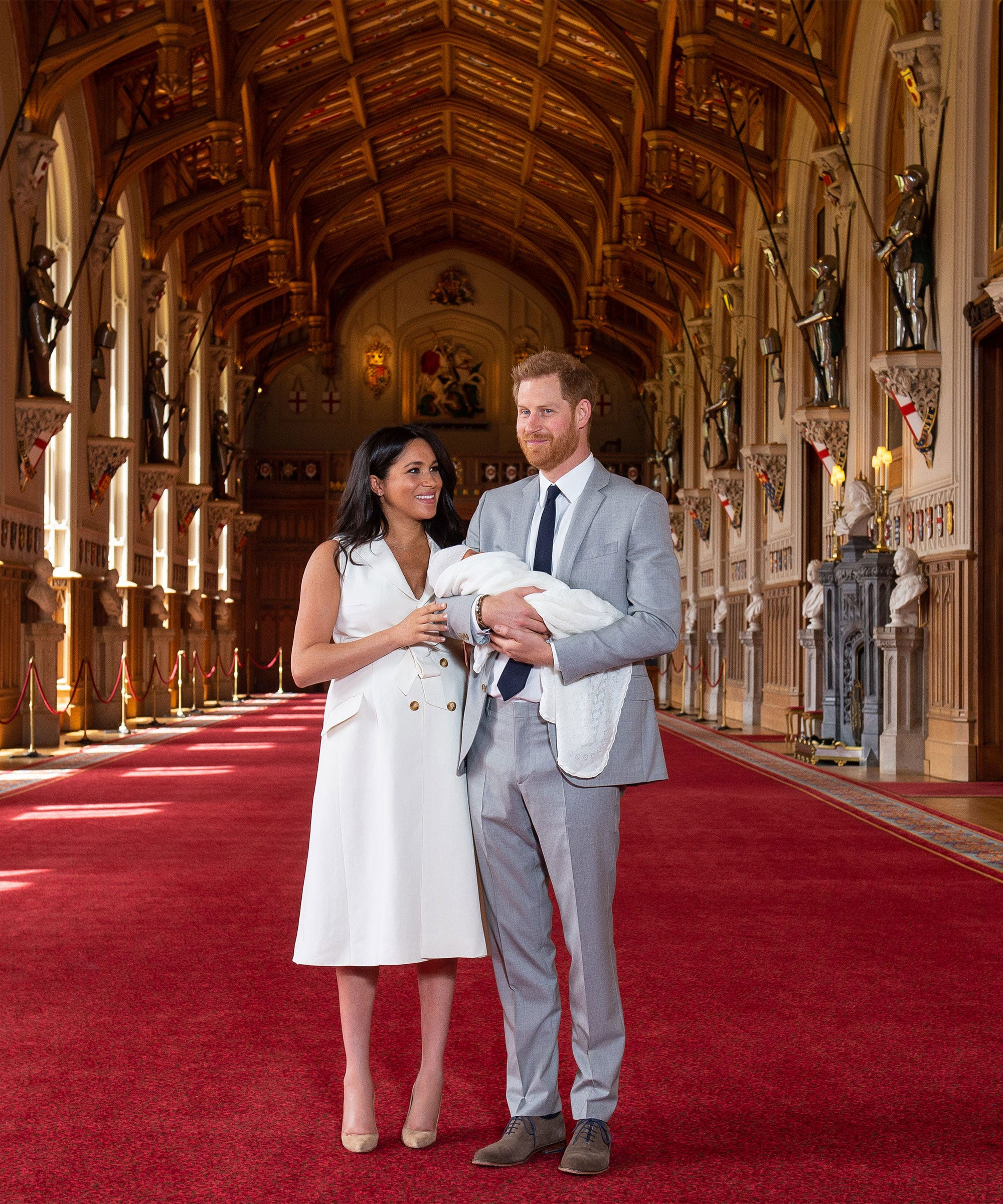 The Site Of The Royal Baby's First Appearance Has Significance For Meghan & Harry