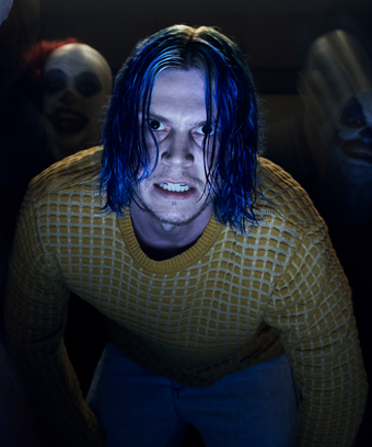 The Story Behind Kai S Blue Hair On American Horror Cult Isn T What You Expect