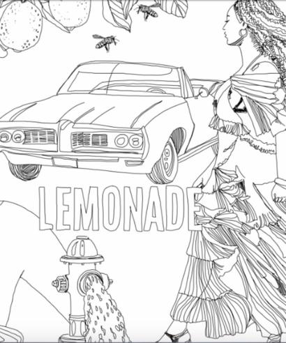 beyonce lemonade coloring book rh refinery29 com Beyonce Lemonade Booklet Rihanna Coloring Book