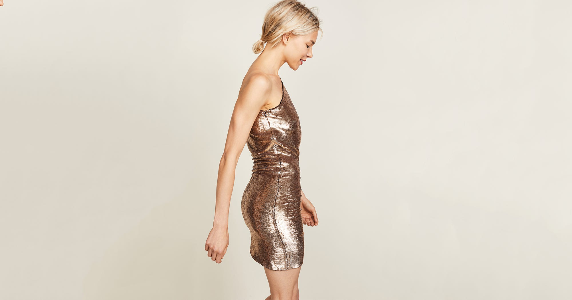 17 Gold Dresses To Light Up In This Holiday Season