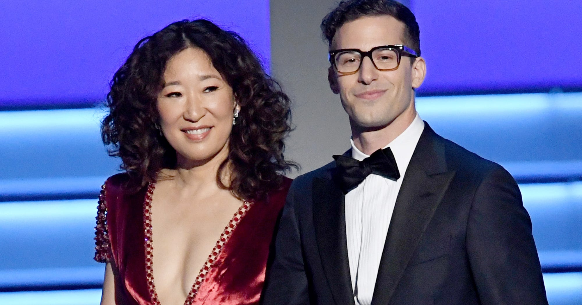 Sandra Oh & Andy Samberg Will Host The Golden Globes