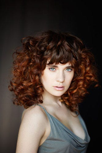 The Hairdressing Story For Curls And Texture This Strong Is About A Vision  Of Building Width Of Incredible Proportion. To Create This New Shape U2014 One  That ...