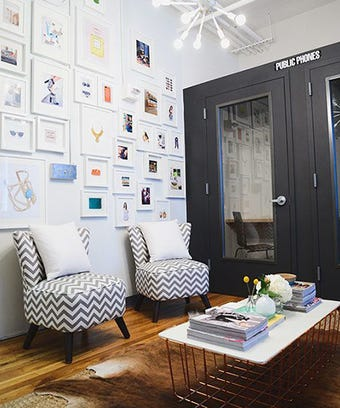 tour stylish office los. Tour This Start-Up\u0027s Stylish Office Revamp Los S