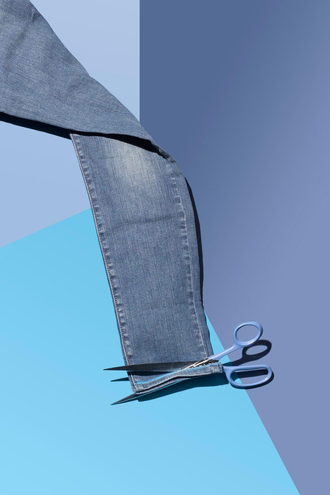 34476b8d4a5 Frayed Hem Jeans- DIY Denim