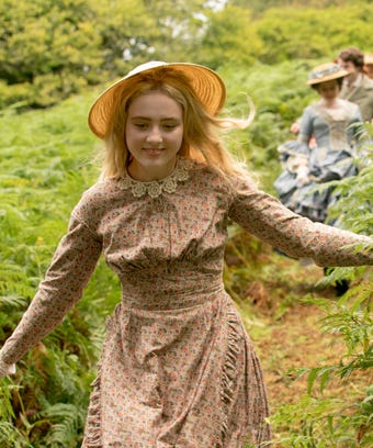 Kathryn Newton in Little Women