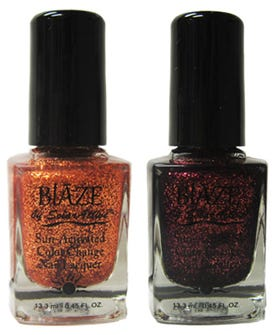 Blaze Nail Lacquer – Glitter Nail Polish Changes In The Sun