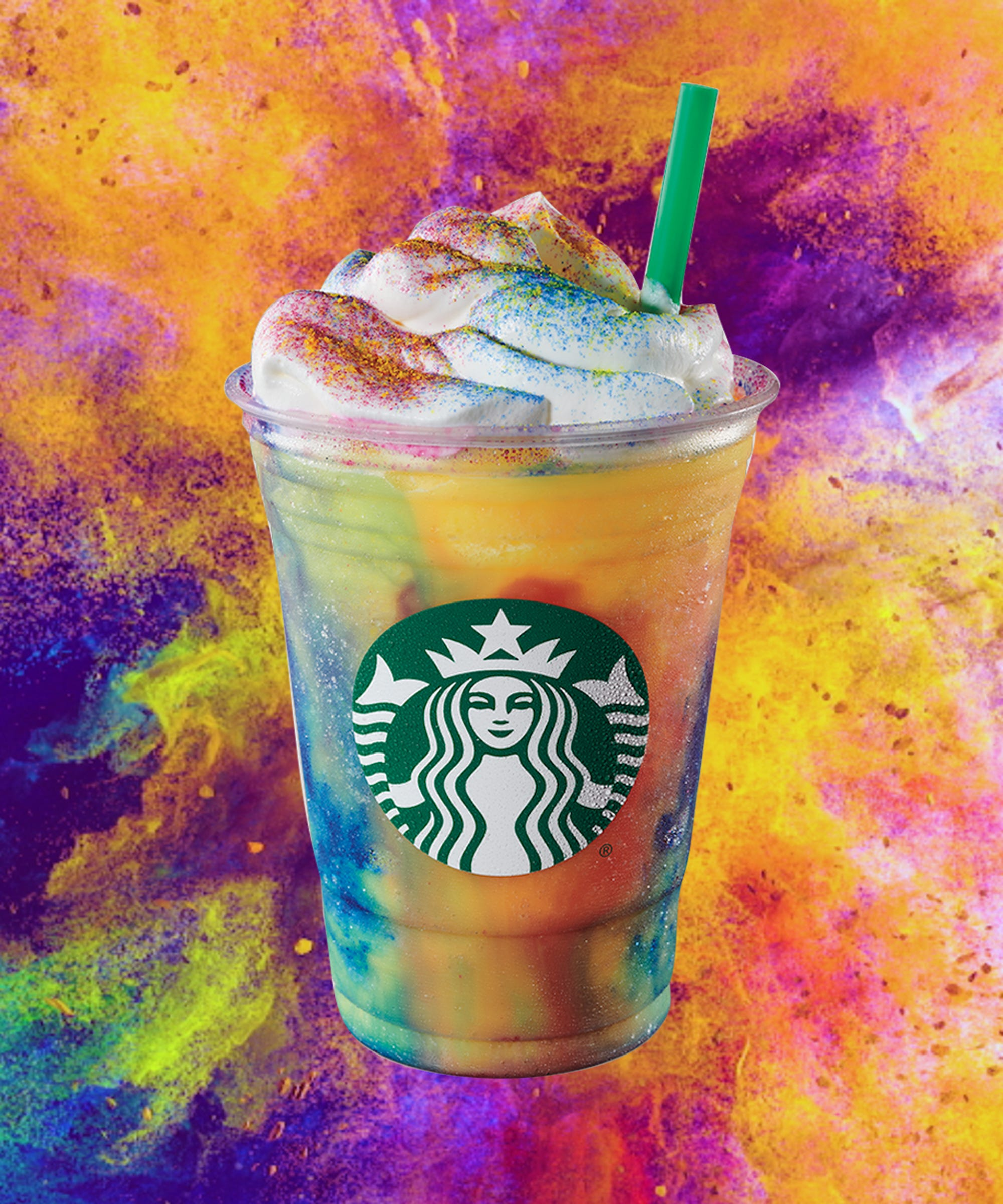 Baristas Have A Lot Of Feelings About The Tie-Dye Frappuccino