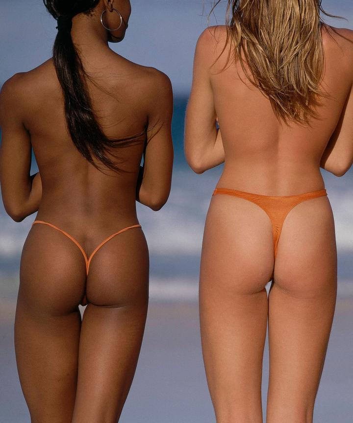 Thong bikini butt pics