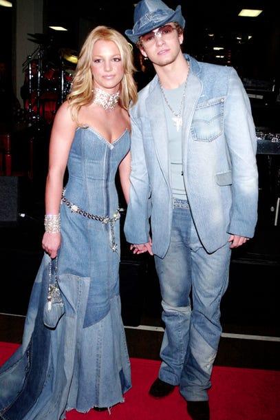Justin Timberlake Britney Spears Denim On Denim Outfits