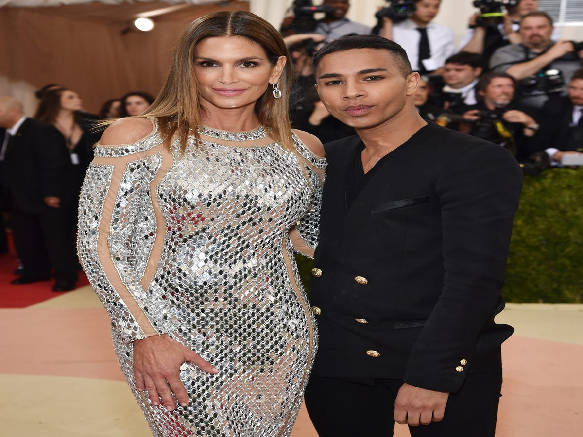 Exclusive: Balmain To Auction Off Met Gala Looks For Charity