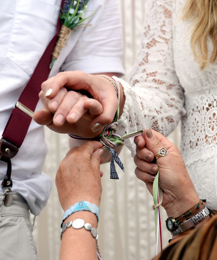 Handfasting Ceremony Rituals Pagan Wedding Traditions