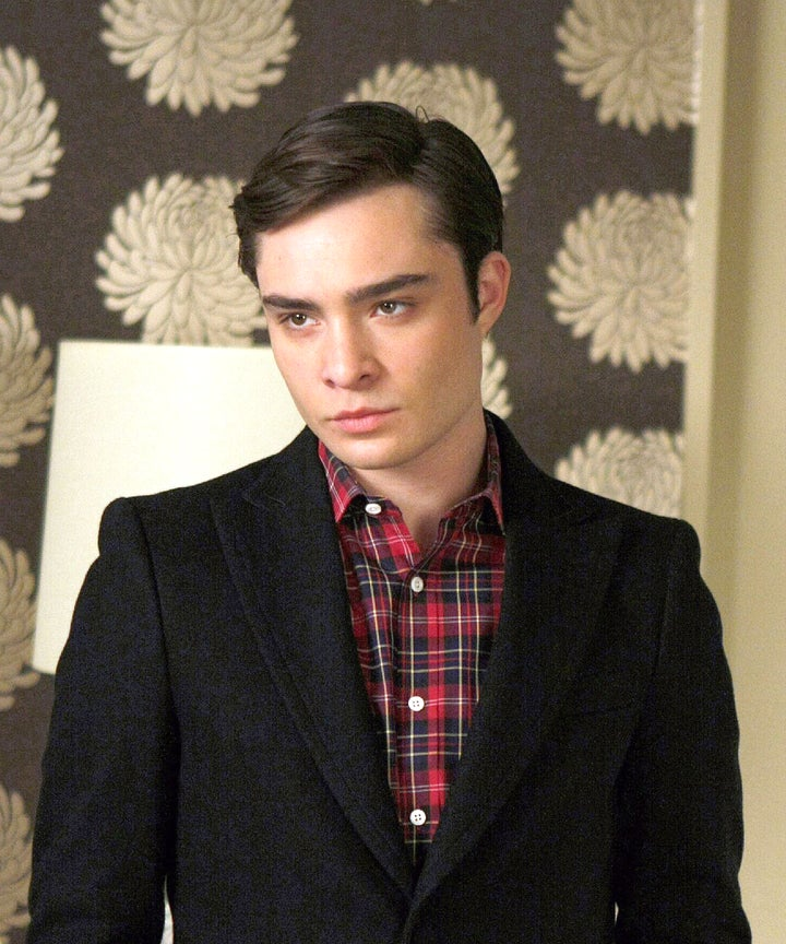 White Gold Ed Westwick Character Chuck Bass Comparison