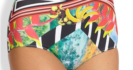 This Is The Best High-Waisted Bikini, Says Math