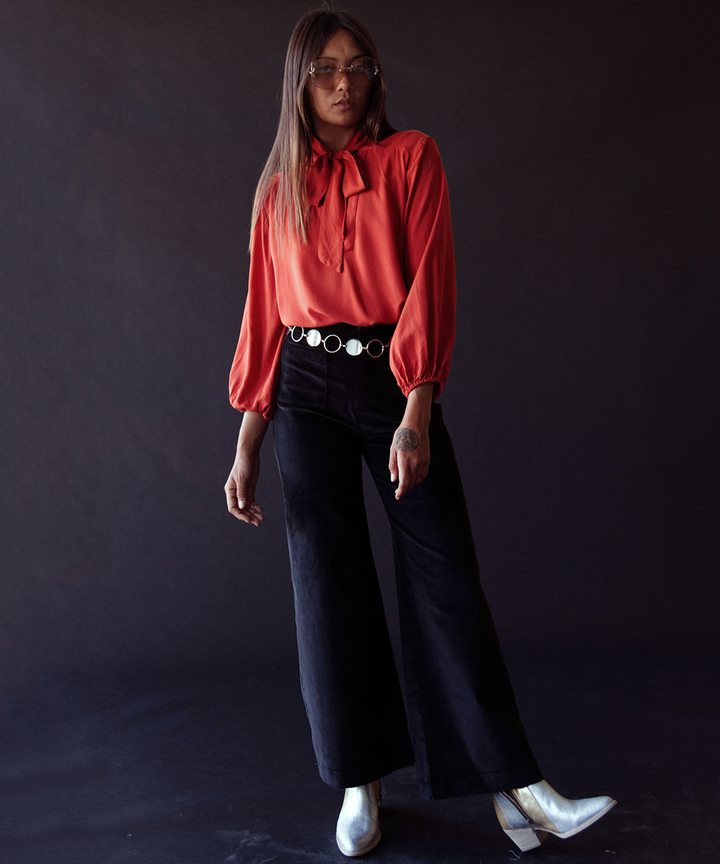 The seventies dress style