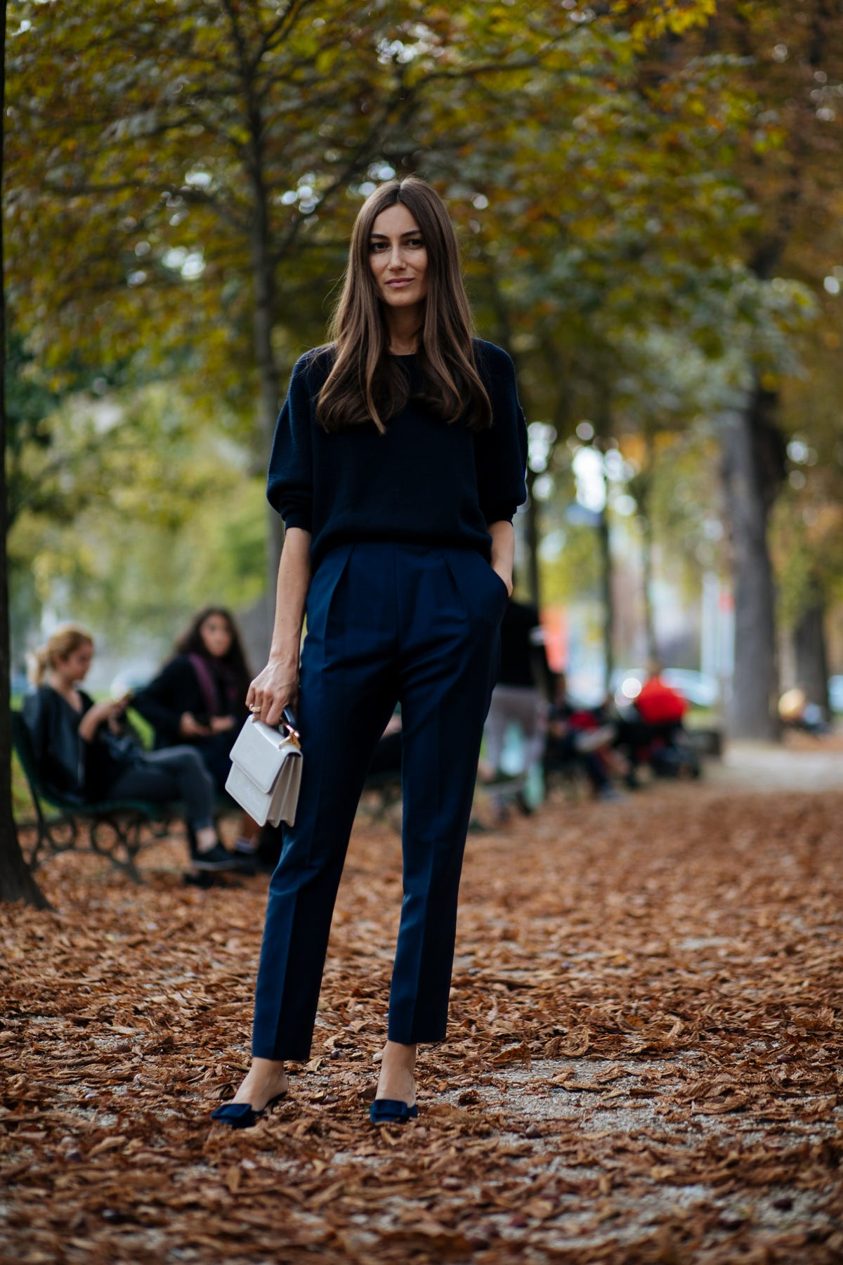 394b1e00e2e3 All The Best Street Style At Paris Fashion Week SS18